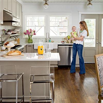 Southern Living Remodeled Cottage Kitchen