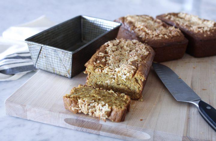Coconut Pumpkin Bread