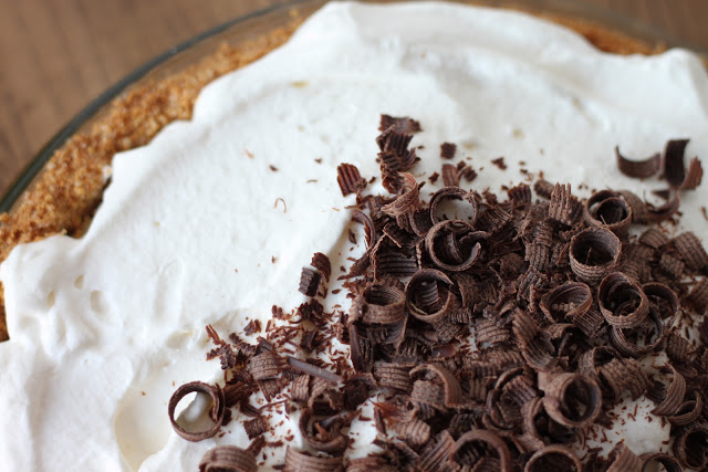 Black Bottom Banana Cream Pie