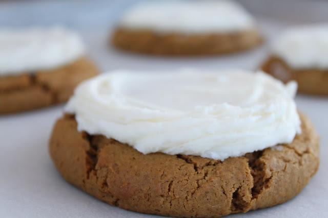 Cutler's Gingerbread Cookies with Buttercream Frosting