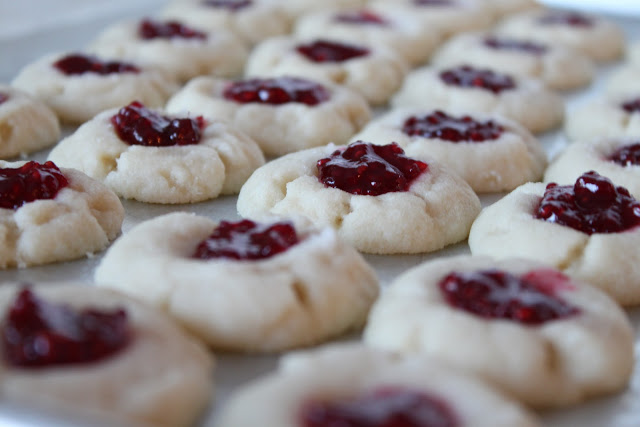 Brookie S Jam Thumbprint Cookies A Bountiful Kitchen