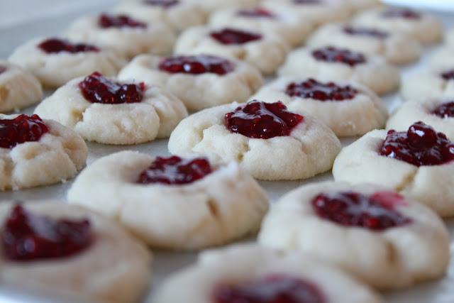 Brookie's Jam Thumbprint Cookies