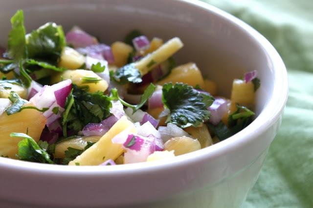 Salsa de Pina - Pineapple Salsa