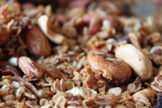 Karen's Peanut Butter and Cashew Granola