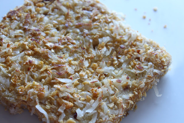 Crunchy Coconut French Toast