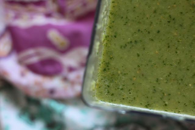 Homemade Green Enchilada Sauce