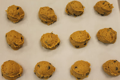 Cutler's Pumpkin Chocolate Chip Cookies