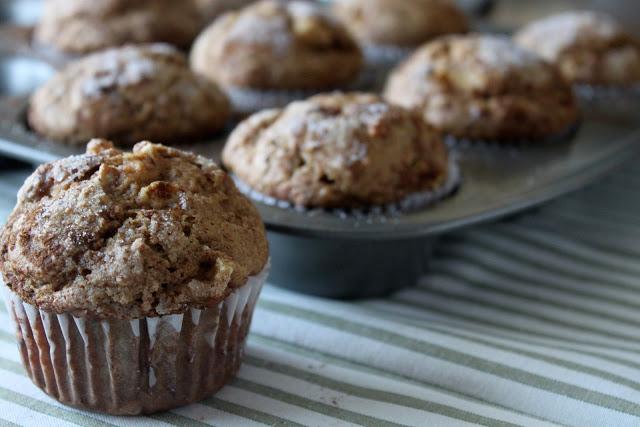 Cinnamon Apple Cider Muffins