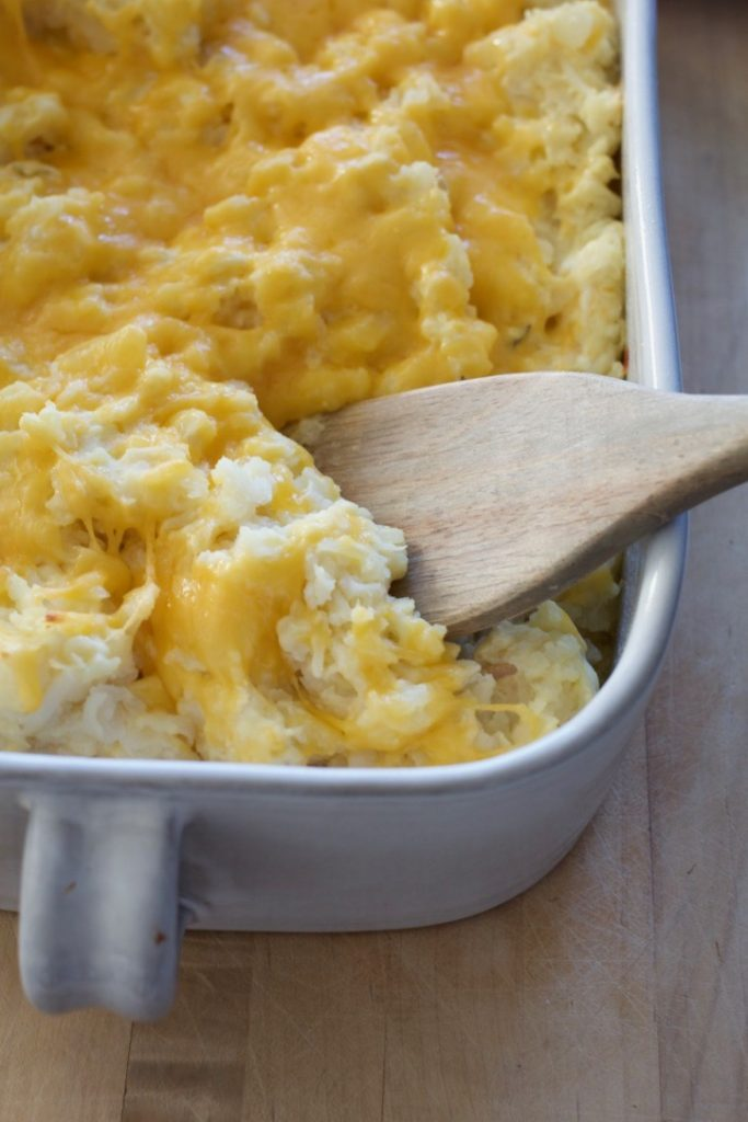 Funeral Potatoes 101 or What Mitt Ate Last Night (part two)