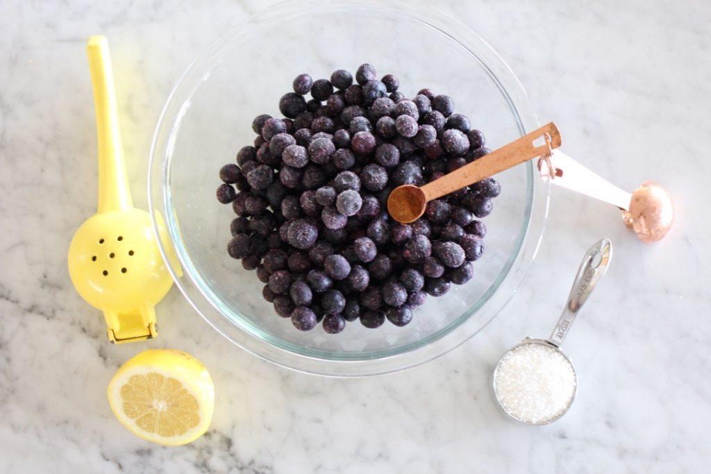 Bountiful Blueberry Pie