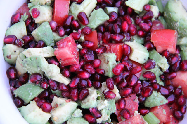 Sheri's Pomegranate Avocado Salsa