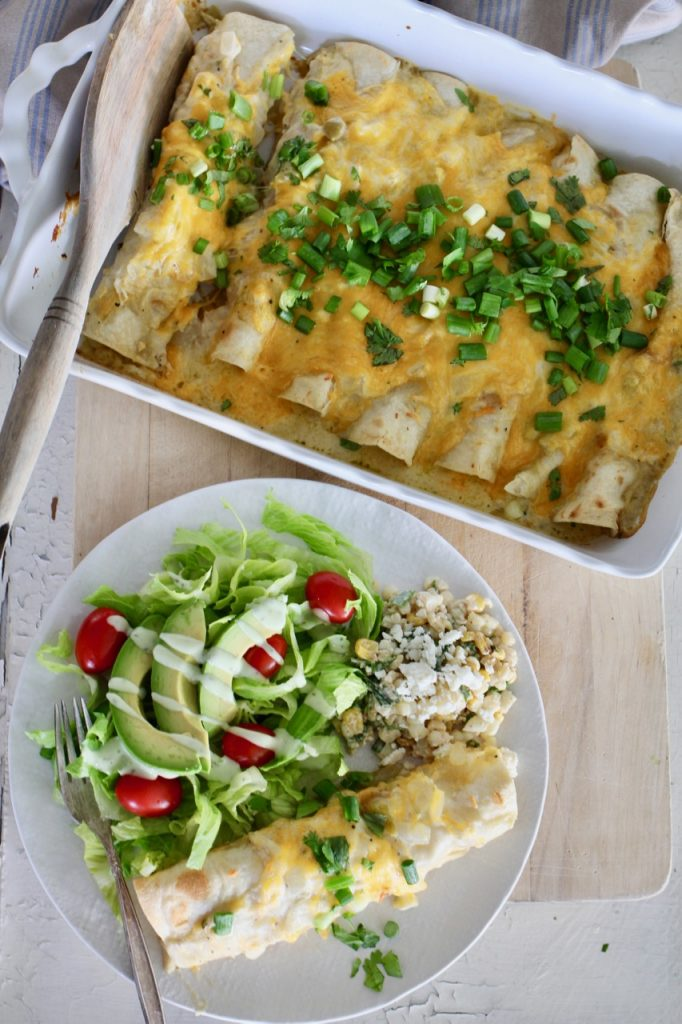 Family Favorite Chicken Enchiladas