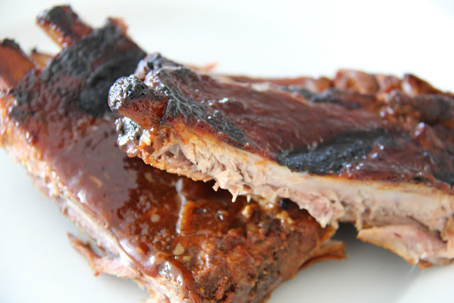Slow Cooked BBQ Ribs