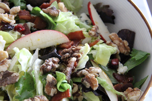 Cape Cod Chopped Salad and promises
