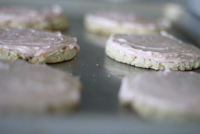 (Almost) Swig Sugar Cookies and one long story behind them...