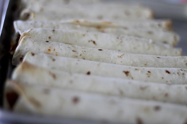 Baked Taco Rollups