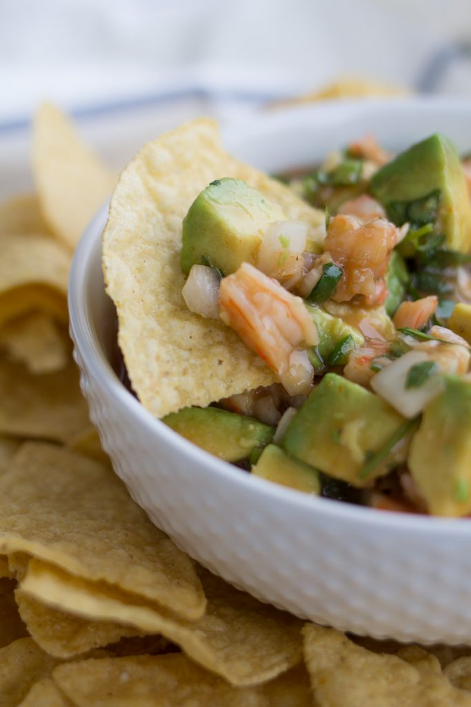 Shrimp and Avocado Salsa