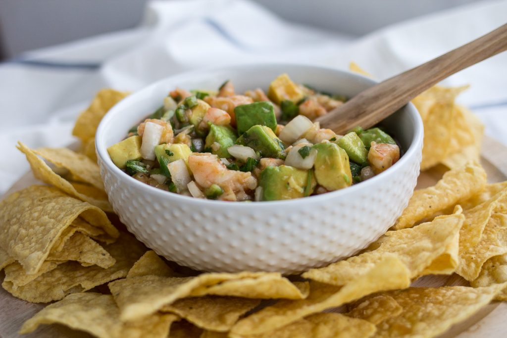 Everyone's Favorite Shrimp and Avocado Salsa