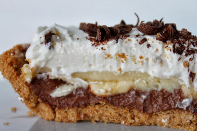 Black Bottom Banana Cream Pie<