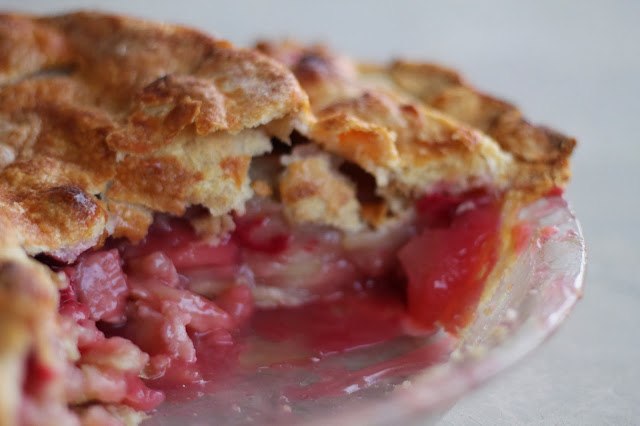 Fresh Apple-Cranberry Pie