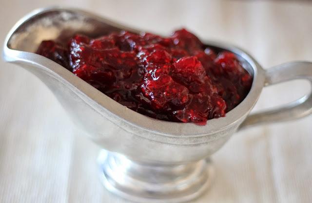 Fresh Cranberry-Raspberry Sauce
