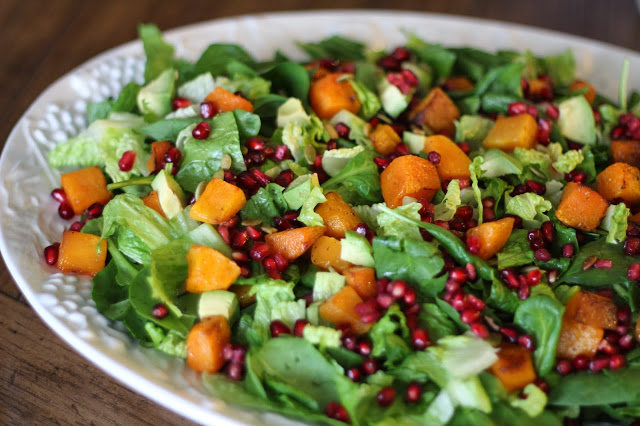 Harvest Salad with Buttermilk Sage Dressing