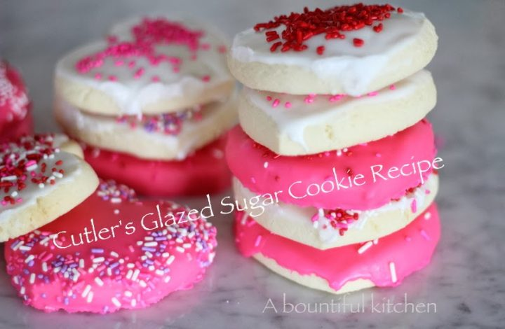 Cutler's Famous Glazed Sugar Cookies (step by step)