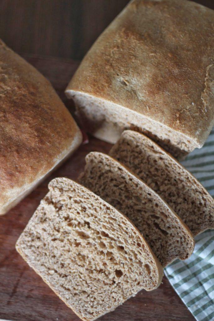 Great Harvest Honey Whole Wheat Bread (copycat)