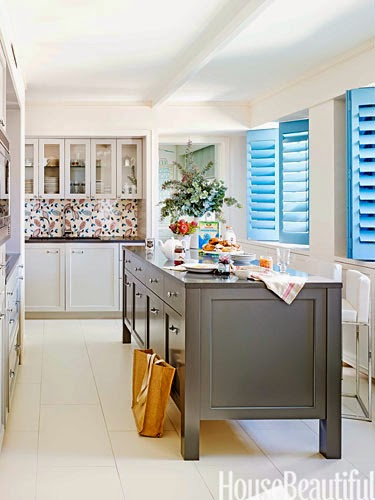 English Country Style Kitchen in NY-House Beautiful