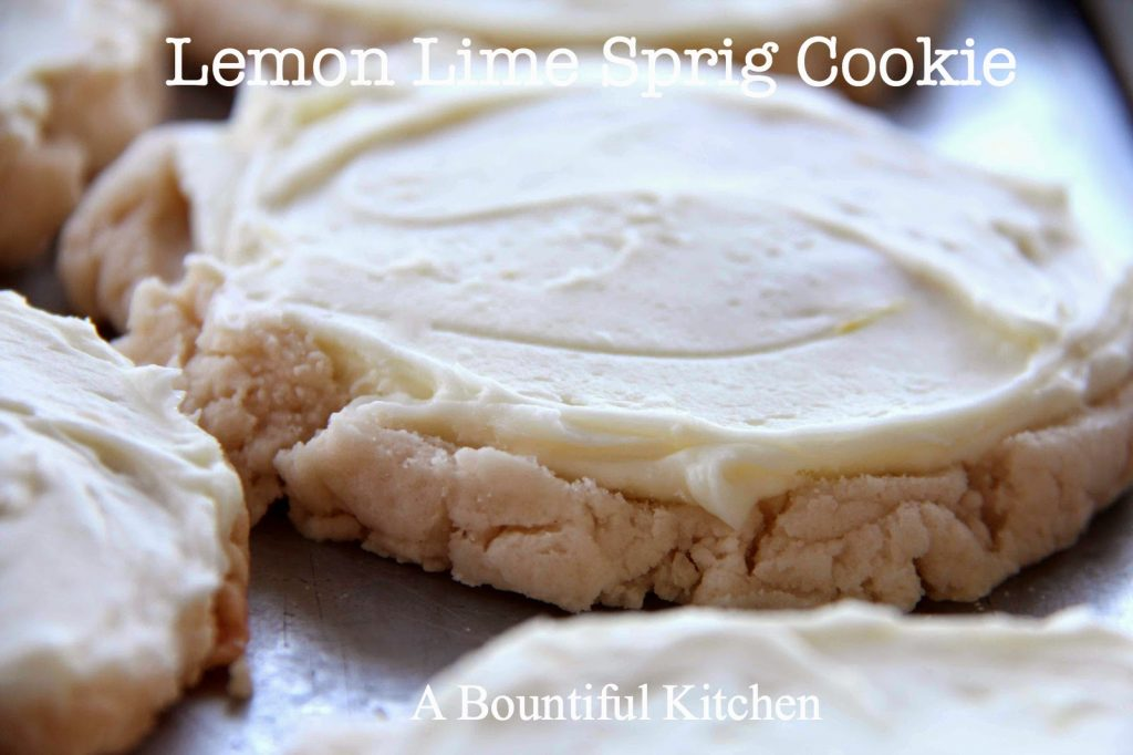 Lemon Lime Sprig Cookie