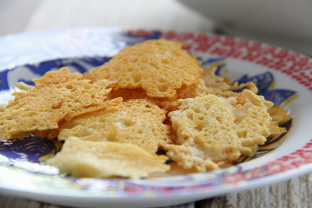 Kale, Radish and Roasted Corn Salad with Parmesan Crisps- Mother's Day 2014 Menu