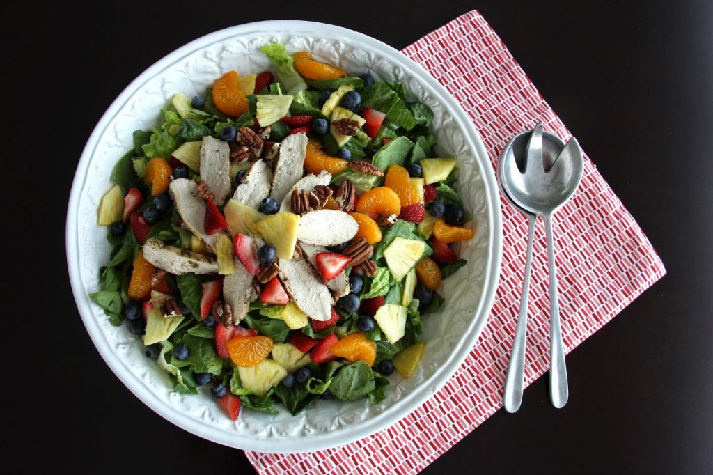 Panera's Strawberry Poppyseed and Chicken Salad