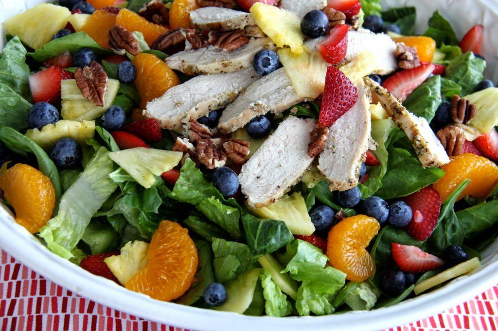 Panera's Strawberry Poppyseed and Chicken Salad