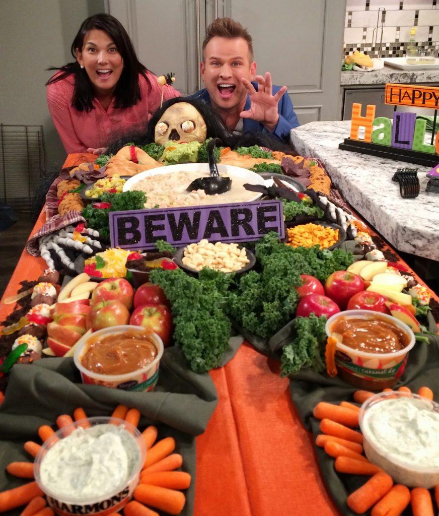 White Chicken Chili & Dead Man's Dinner for Halloween!