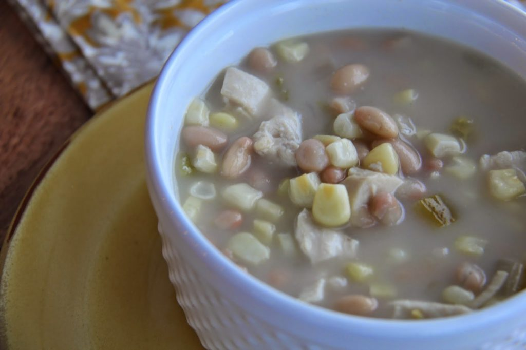 White Chicken Chili & Dead Man's Dinner for Halloween!