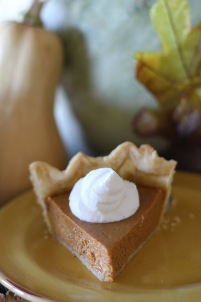 Our Favorite Pumpkin Pie