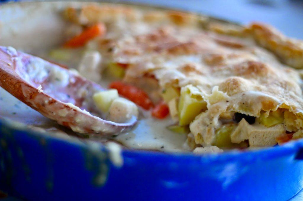 Oh My- Turkey Pot Pie