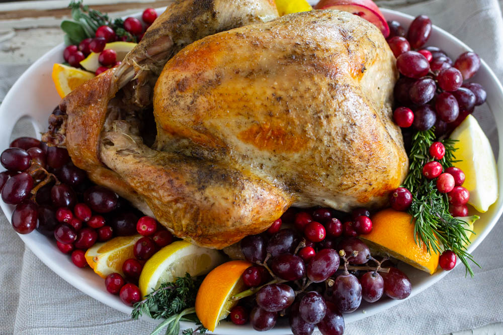 Easy oven roasted turkey in a bag