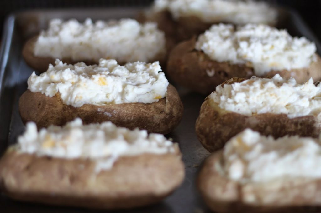 Loaded Twice Baked Potatoes