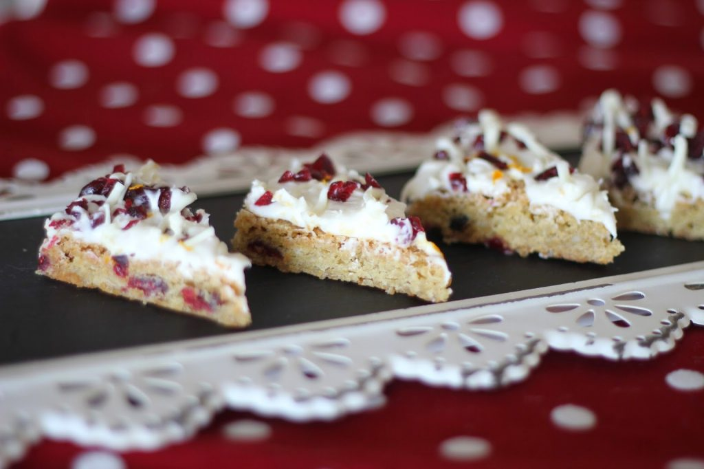 Homemade Starbucks Cranberry Bliss Bars