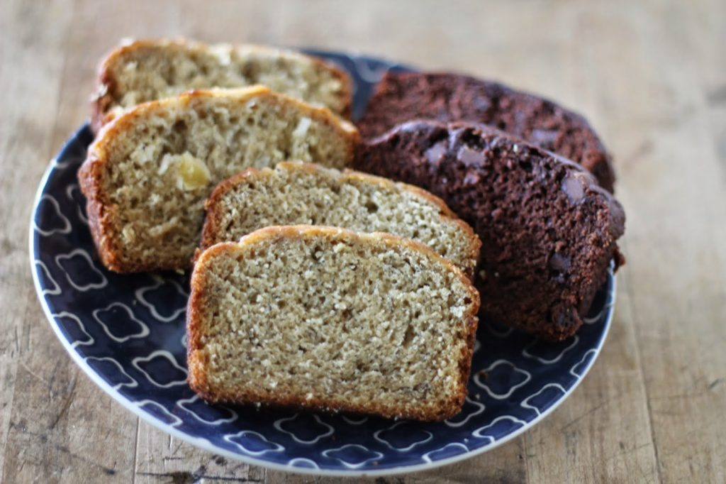 Banana Bread with Coconut Oil