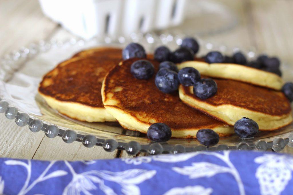 Fresh Lemon Ricotta Pancakes- Wildflower Bread Co. Copycat