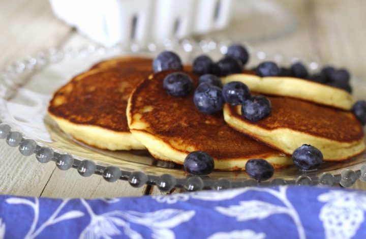 Fresh Lemon Ricotta Pancakes- Wildflower Bread Co. Copycat