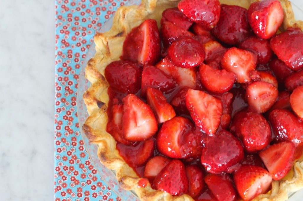 ABK's Fresh Strawberry Pie