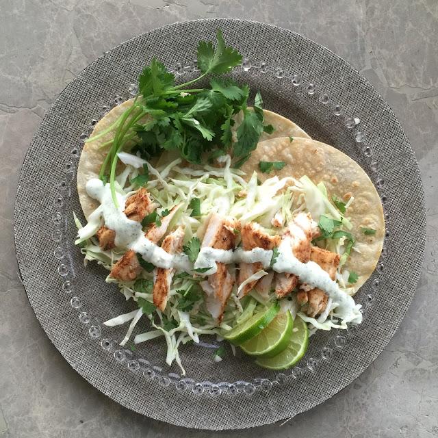 Lone Star Taqueria Fish Tacos with Jalapeño Mayo