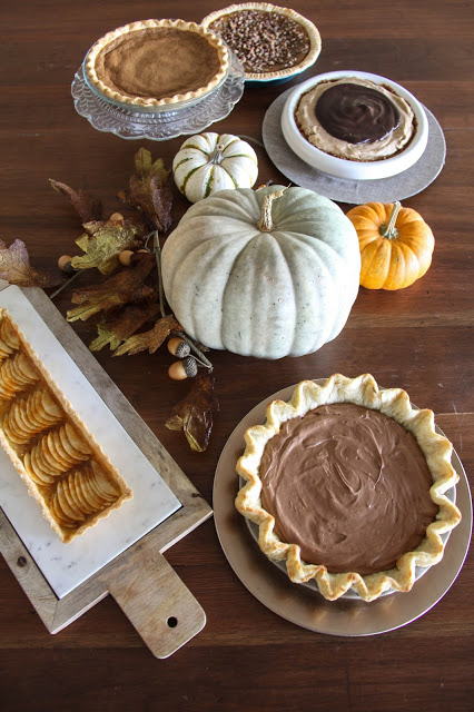 Chocolate Silk Pie and Harmons Thanksgiving Pie Fest!
