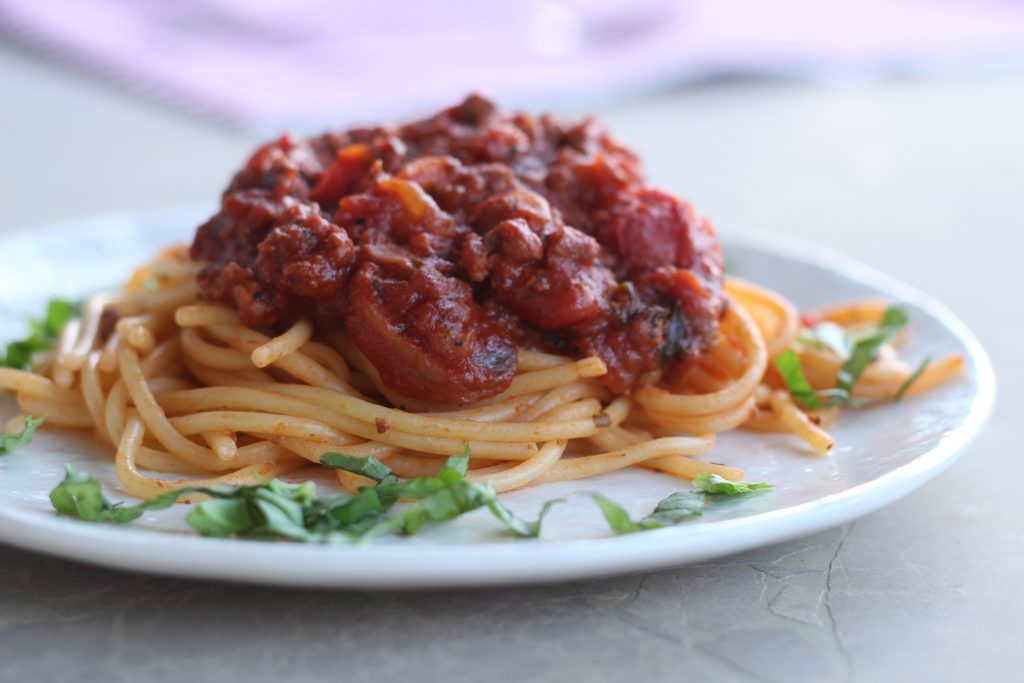 Family Favorite Slow Cooker Spaghetti Sauce