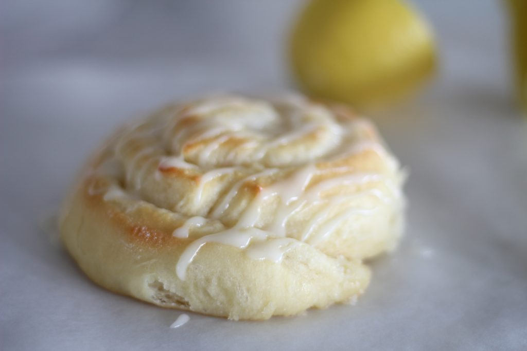 Fresh Lemon Buns