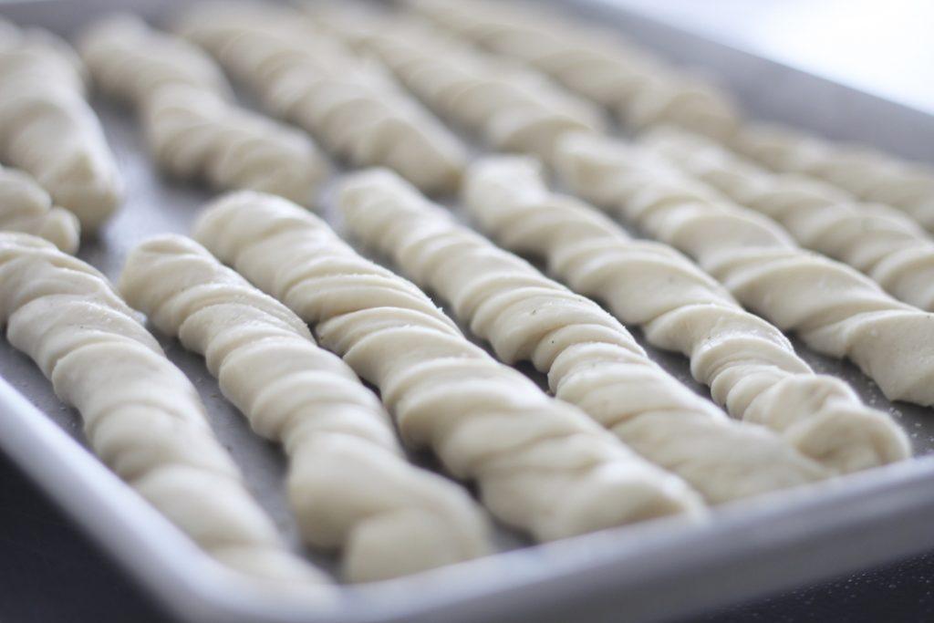 Soft Herb Breadsticks