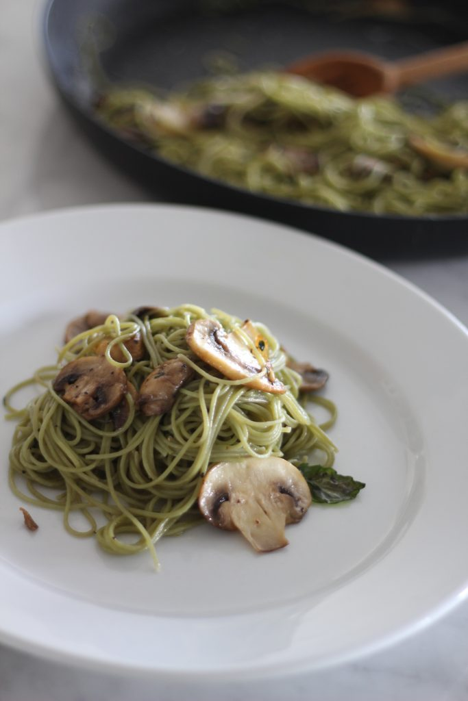 Angel Hair Pasta with Herb Butter
